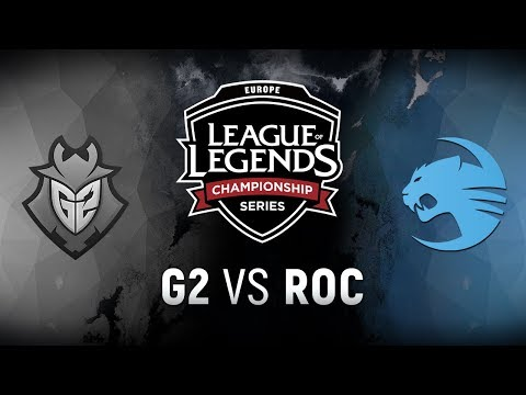 G2 vs. ROC  - Week 1 Game 9   EU LCS Spring Split    G2 Esports vs. Team Roccat (2018)