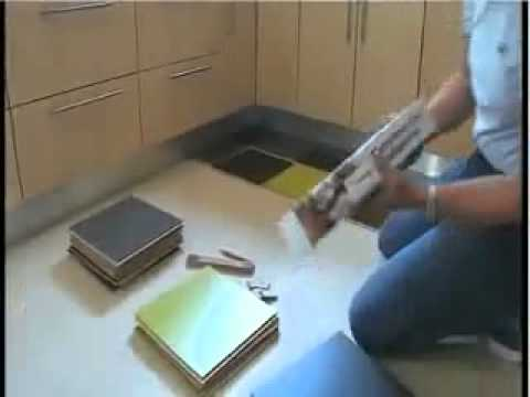 Forbo marmoleum click video de pose youtube - Forbo marmoleum click ...