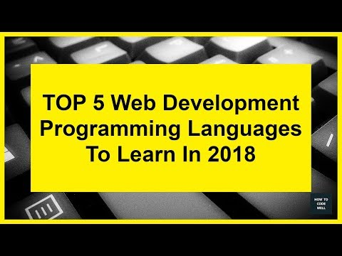 top-5-web-development-languages-to-learn-in-2018