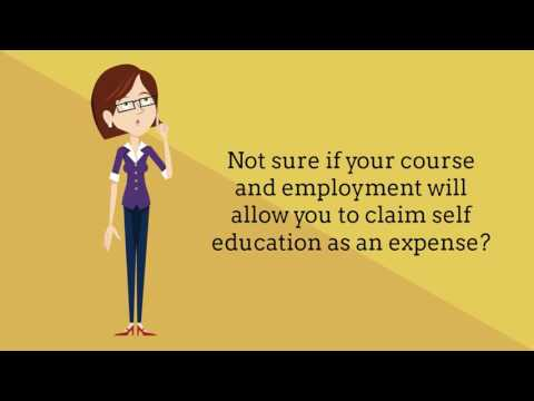 Lesson #2 - Claiming Self Education Expenses - TAS