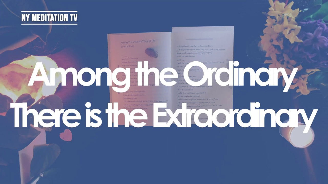 Writing of Woo Myung - Among The Ordinary There Is The Extraordinary