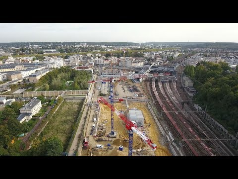 Versailles-Chantiers : un nouveau quartier en 2019