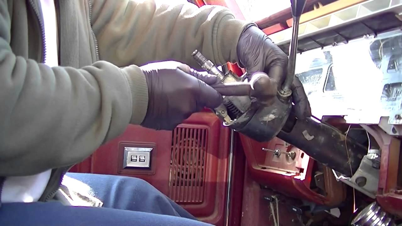 Red Ford Steering Column Assembly Youtube Wiring Diagram For A 73 78 F100