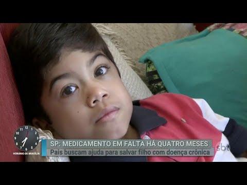 Menino com doença rara luta contra o tempo para conseguir tratamento   Primeiro Impacto (13/04/18)