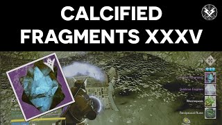 Destiny - Calcified Fragments XXXV - BOOKS OF SORROW