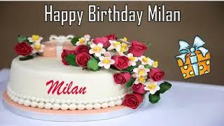 Happy Birthday Milan Image Wishes✔