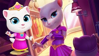 Enjoy This Video! Talking Tom Gold Run - My Talking Angela Great Ma...