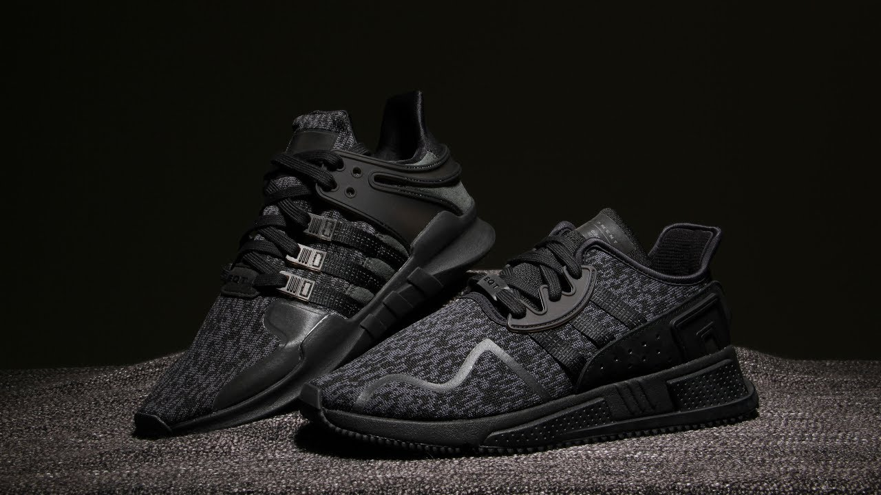 premium selection 5c178 12b8f adidas EQT Black Friday - Cushion ADV  Support ADV - Closer look