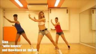 "KES - How to Dance ""Precision Wine"" - Tutorial Dancehall Soca Choreo by Aya"