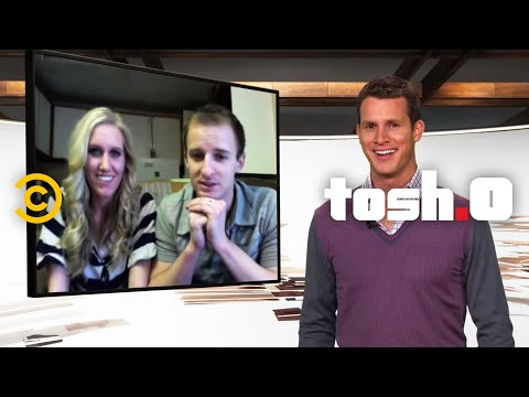 Tosh.0 - Web Chat - Miles Per Hour Couple