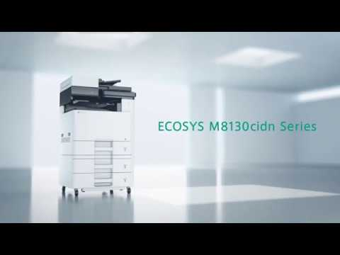 Colour Multifunction Printers -- ECOSYS M8130cidn