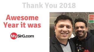 Thanks 2018   Ft  FlyingBeast, Sejal Kumar   MySirG com