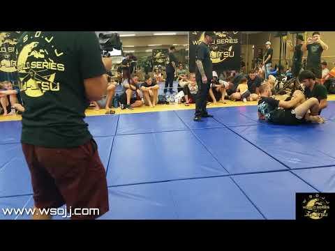 WSOJJ: Joseph Wingate (10th Planet SD) vs Axel Gibson (Uprise MMA)