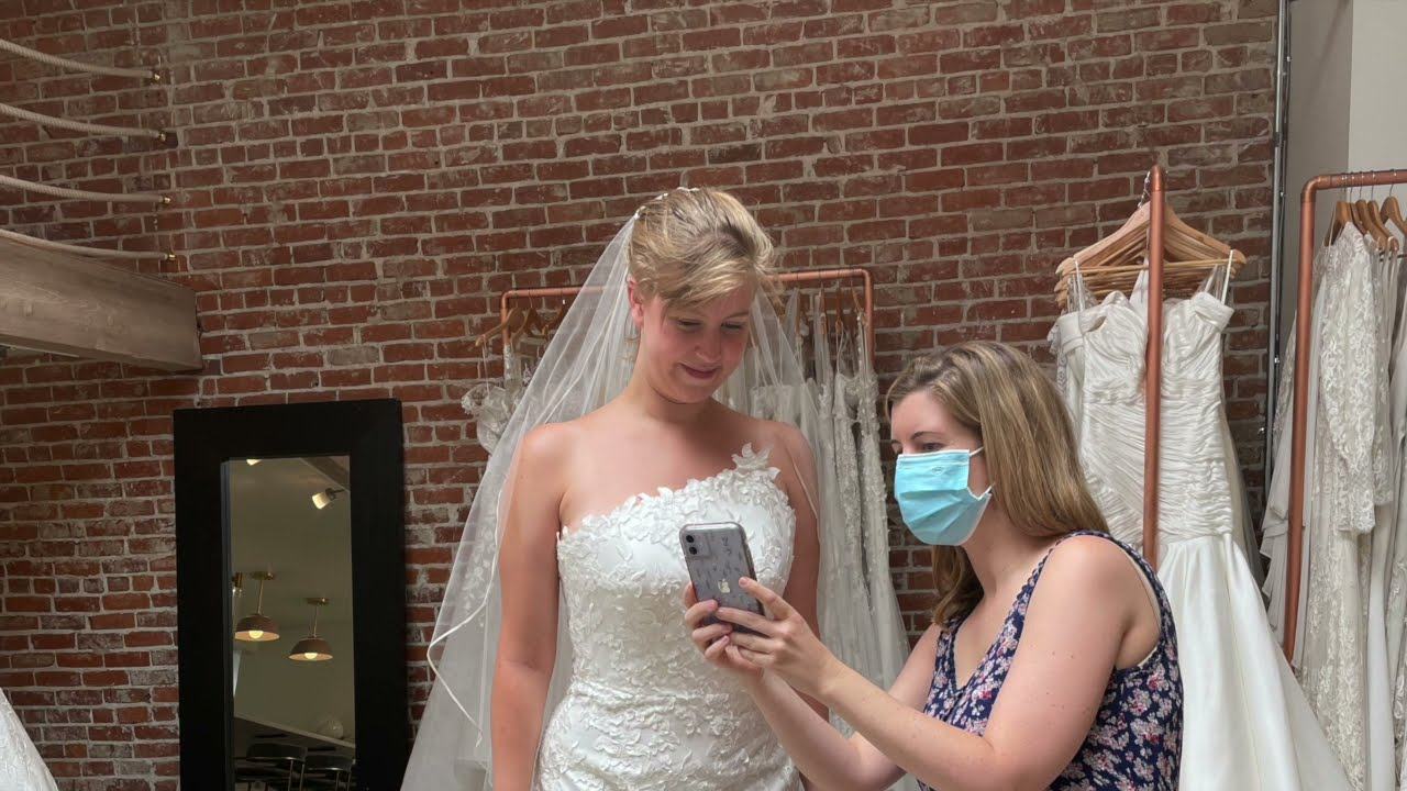 """She Said """"Yes!"""" to the Dress:  Part 2"""