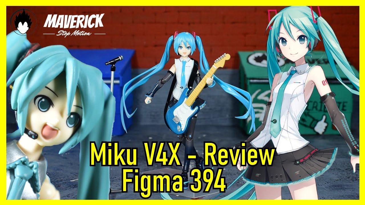 POR QUE UNA MIKU NO ES SIFICIENTE 😅 || Figma 394 Hatsune Miku V4X 🥰 || UNBOXING || Review en Español