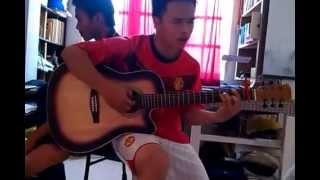 trang lưu bút ngọt ngào guitar by cover manmanhme