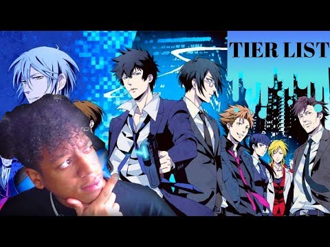 PSYCHO-PASS 1&2 ALL OP&ED BLIND REACTION!!!