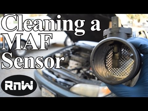 How to Clean and Diagnose a Dirty Mass Air Flow (MAF) Sensor - Plus How a  Hot Wire Sensor Works