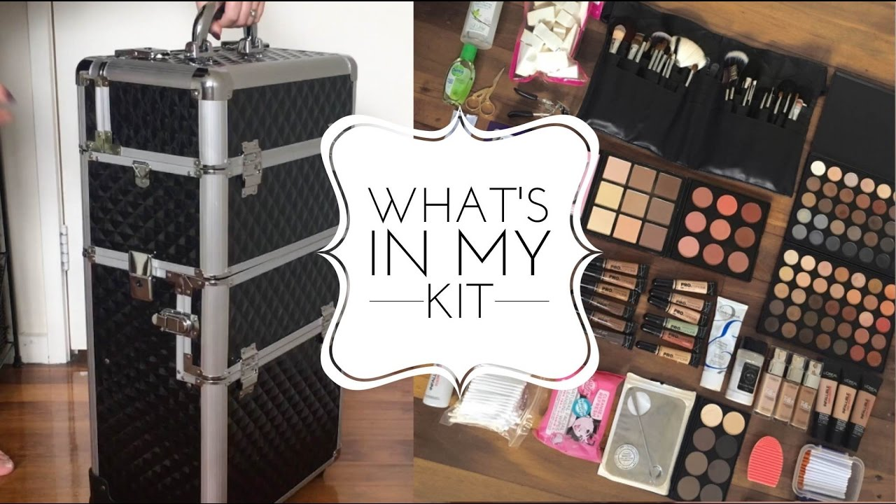 What's in my Freelance MUA Starter Kit? | Becoming a Makeup Artist - YouTube