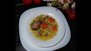Куриный суп с яичной лапшой: рецепт от Foodman.club