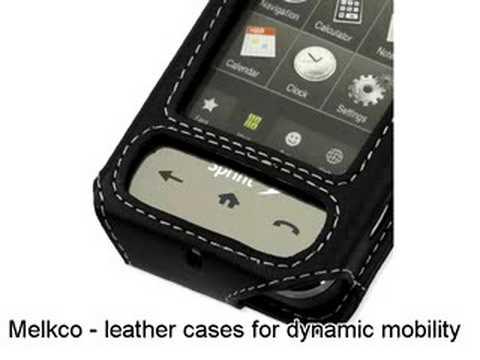 Melkco Tasche Leder Etui cuir ~Samsung SPH-M800 Sprint Instinct Sleeve Type (Black)