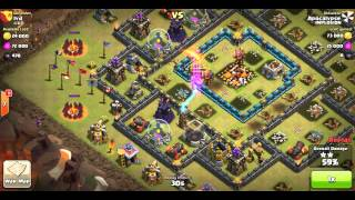 gowipe attacks vs maxed out th 10 s except walls hero s