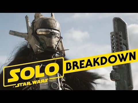 Solo: A Star Wars Story Official Trailer Breakdown and Analysis