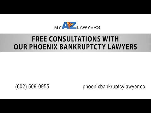 Free Consultations With Our Phoenix Bankruptcy Lawyers | My AZ Lawyers