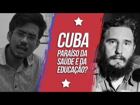 """CUBA - """"Paraíso da saúde e da educação?"""""""