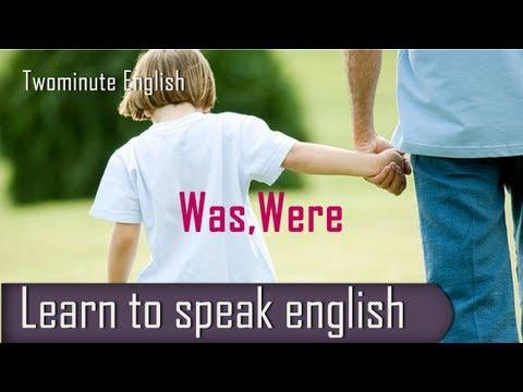 Was, Were - Confusion English Lesson