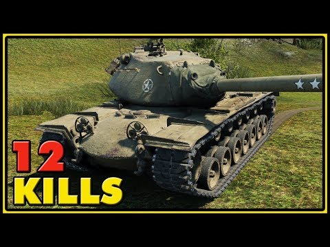 M103 - 12 Kills - World of Tanks Gameplay thumbnail