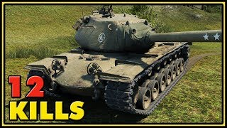 M103 - 12 Kills - World of Tanks Gameplay