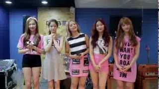 CLC say Hi to Malaysia fans!