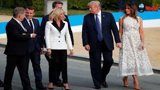 Melania Trump Steals The Show In See-Through Dress