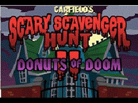 Garfield S Scary Scavenger Hunt Ii Donuts Of Doom Full Game Walkthrough No Commentary Youtube