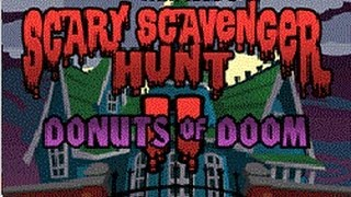 Garfield´s Scary Scavenger Hunt II: Donuts of Doom - Game Walkthrough