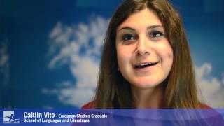 European Studies Graduate - Caitlin Vito