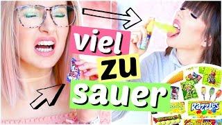 SAUERSTEN Süßigkeiten DER WELT 🤢 | ViktoriaSarina
