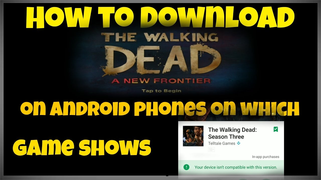 how to download walking dead