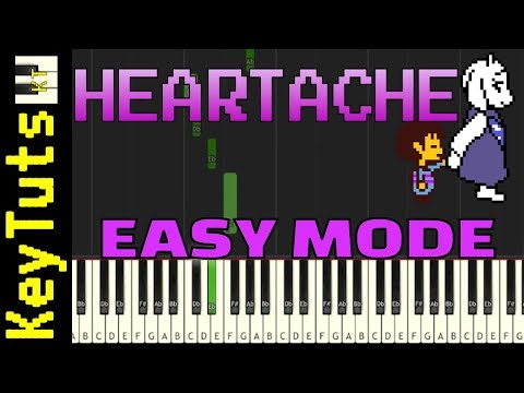 Learn to Play Heartache from Undertale - Easy Mode
