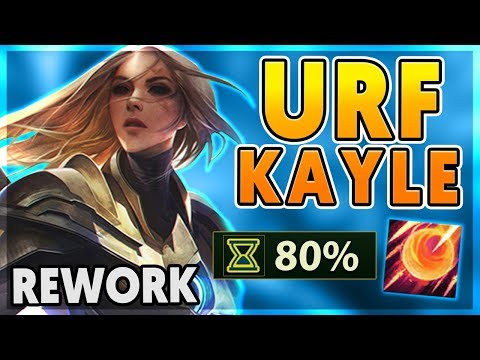 *KAYLE REWORK* THE ONLY KAYLE URF VIDEO ON YOUTUBE (2,091 AP) - BunnyFuFuu