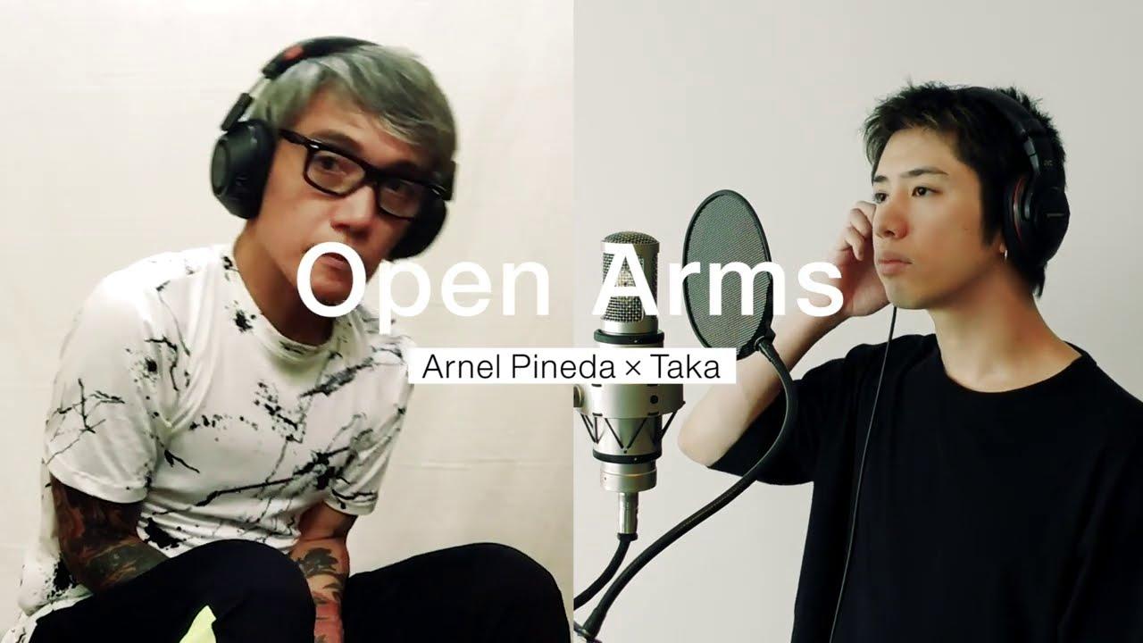 Download Open Arms - Journey • Arnel Pineda x Taka (One OK Rock)