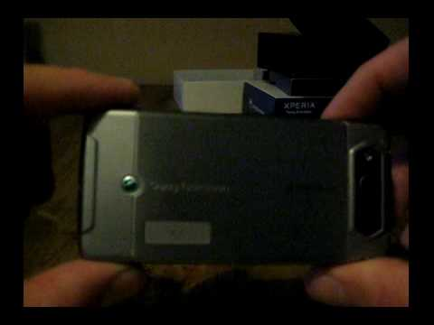 Sony Ericsson Xperia X1 Unboxing / First Impressions (Pt.1)