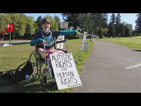 ASAN Vancouver's 2015 Autism Speaks Protest