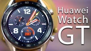 معاينة ساعة هواوي جي تي الذكية