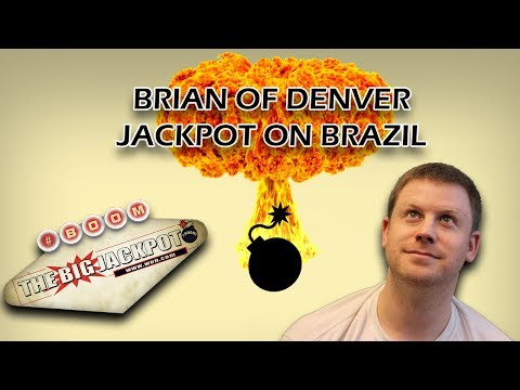 Brian of Denver - $5 Bet Perfect Bonus Round Jackpot Handpay on Brazil Slot Machine