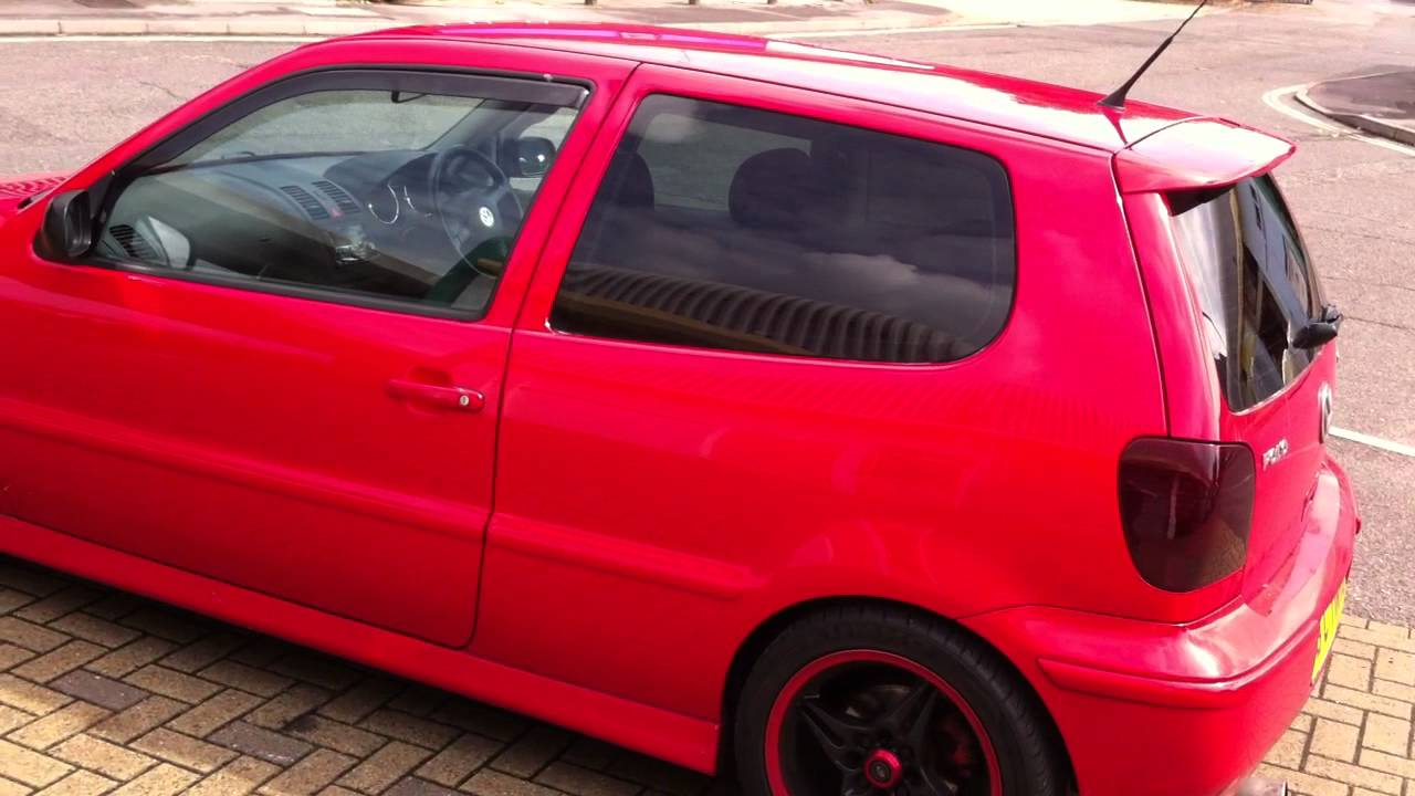 South Coast Vw >> VW Polo with medium tints on rear windows and tinted rear and front lights. - YouTube