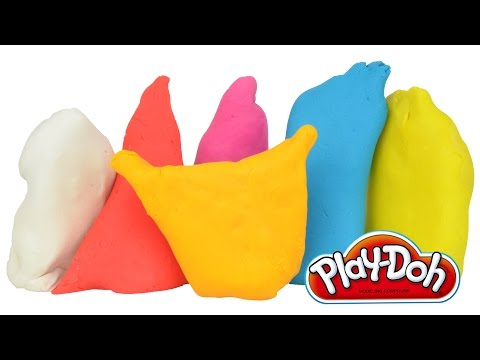 Frozen Play doh Kinder Surprise eggs Disney Tinkerbell Fairies Toys Doc McStuffins Egg