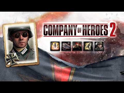 Company of Heroes 2 LIVE [015] Wehrmacht: Kessel-Doktrin / Encirclement Doctrine (Commander Review!)