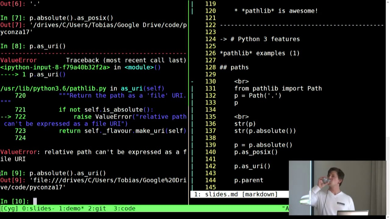 You suck at shell scripting: building awesome command line tools in Python  for fun and profit!